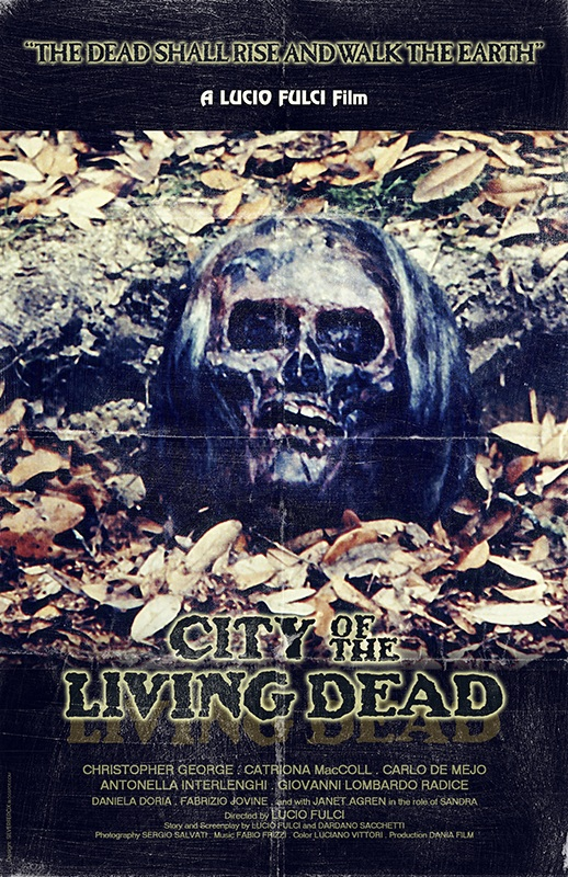 CITY OF THE LIVING DEAD-POSTER 3 BY SILVERFOX